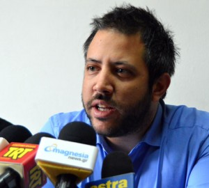 Ο Βουλευτής Μαγνησίας του ΣΥΡΙΖΑ Αλ.Μεϊκόπουλος