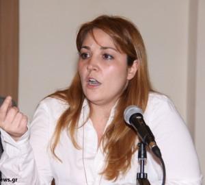 Η πρόεδρος του ΤΕΕ Μαγνησίας κ. Νάνσυ Καπούλα