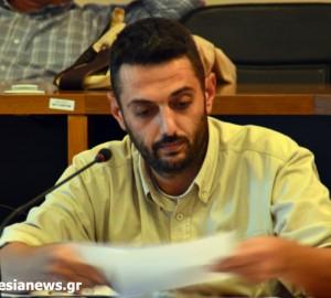 Ο ανεξάρτητος δημοτικός σύμβουλος  Νίκος Κανελλής