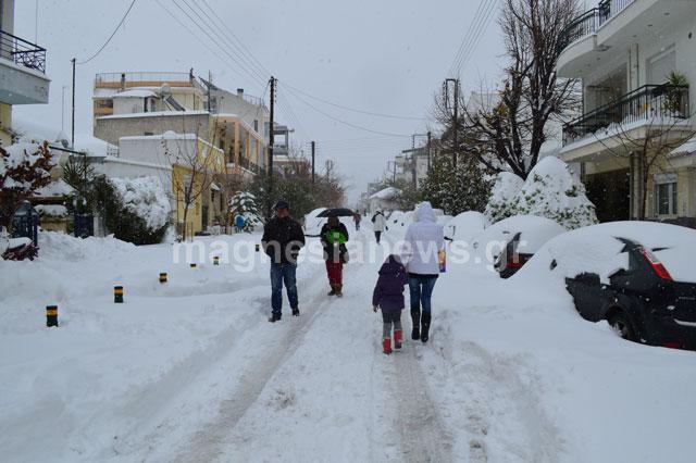 Αποτέλεσμα εικόνας για βόλος χιονισμενος