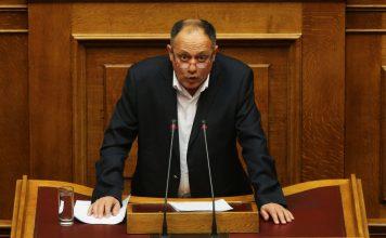 Ο βουλευτής του ΚΚΕ Κωνσταντίνος Στεργίου. ΑΠΕ-ΜΠΕ/ΑΠΕ-ΜΠΕ/ΑΛΕΞΑΝΔΡΟΣ ΒΛΑΧΟΣ