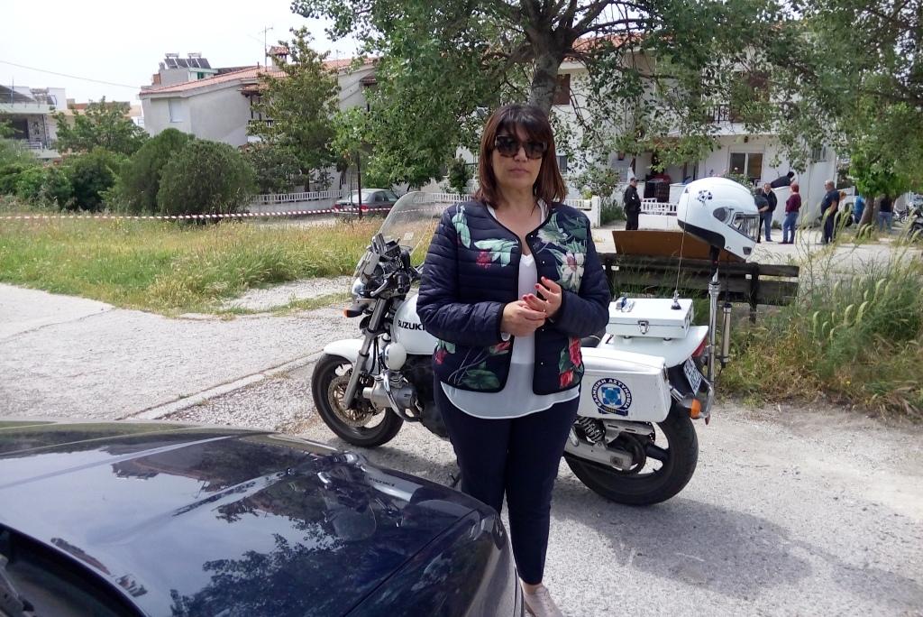 Η προϊσταμένη της Ιατροδικαστικής Υπηρεσίας Λάρισας Ρουμπίνη Λεονταρή