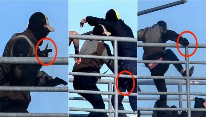 Εντόπισαν στο Νοσοκομείο του Βόλου τον «μαχαιροβγάλτη» των επεισοδίων του τελικού Κυπέλλου στο Πανθεσσαλικό του Βόλου (VIDEO)