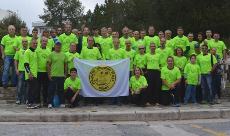 135ee870e21d Ρεκόρ με 129 συμμετοχές από τον ΣΔΥΒ στον Μαραθώνιο της Αθήνας ...