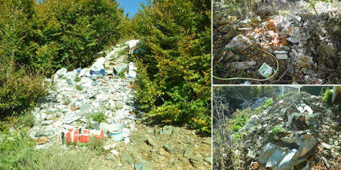 Περιβαλλοντικό έγκλημα στο Πήλιο: Χωματερή σε προστατευόμενη περιοχή Natura ! (ΦΩΤΟ)