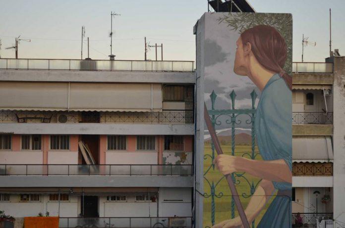 Μεταμορφώνεται η πόλη του Βόλο από την Urbanact με πάνω από 35 δημόσιες τοιχογραφίες