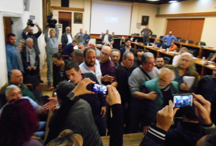 Δημοτικό Συμβούλιο με διακοπές και επεισόδια για άλλη μια φορά χθες στο Βόλο