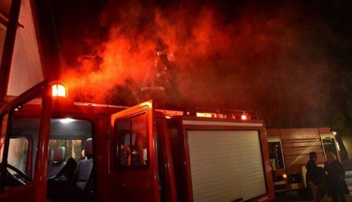 Διαρρήκτης εμπρηστής προκάλεσε ζημιές σε λογιστικό γραφείο στο Βόλο
