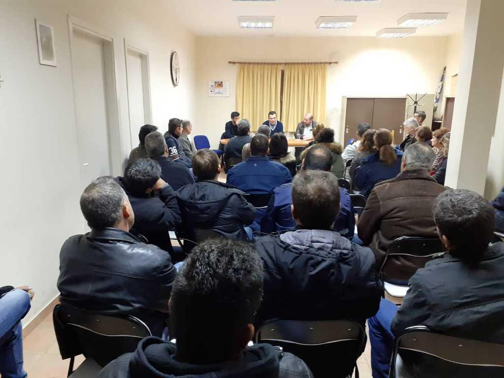 Συνάντηση με τους αγρότες του Πουρίου του βουλευτή Μαγνησίας Ν.Δ. Χρ. Μπουκώρου