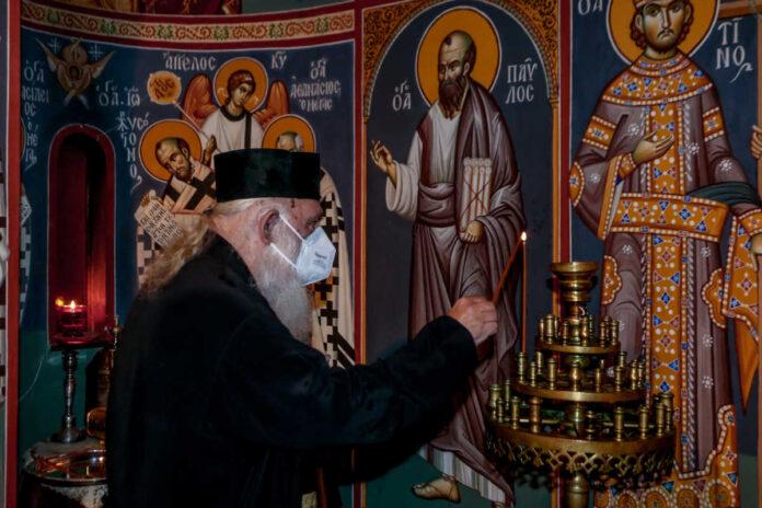 Δήλωση Αρχιεπισκόπου μετά την έξοδό του από τον Ευαγγελισμό