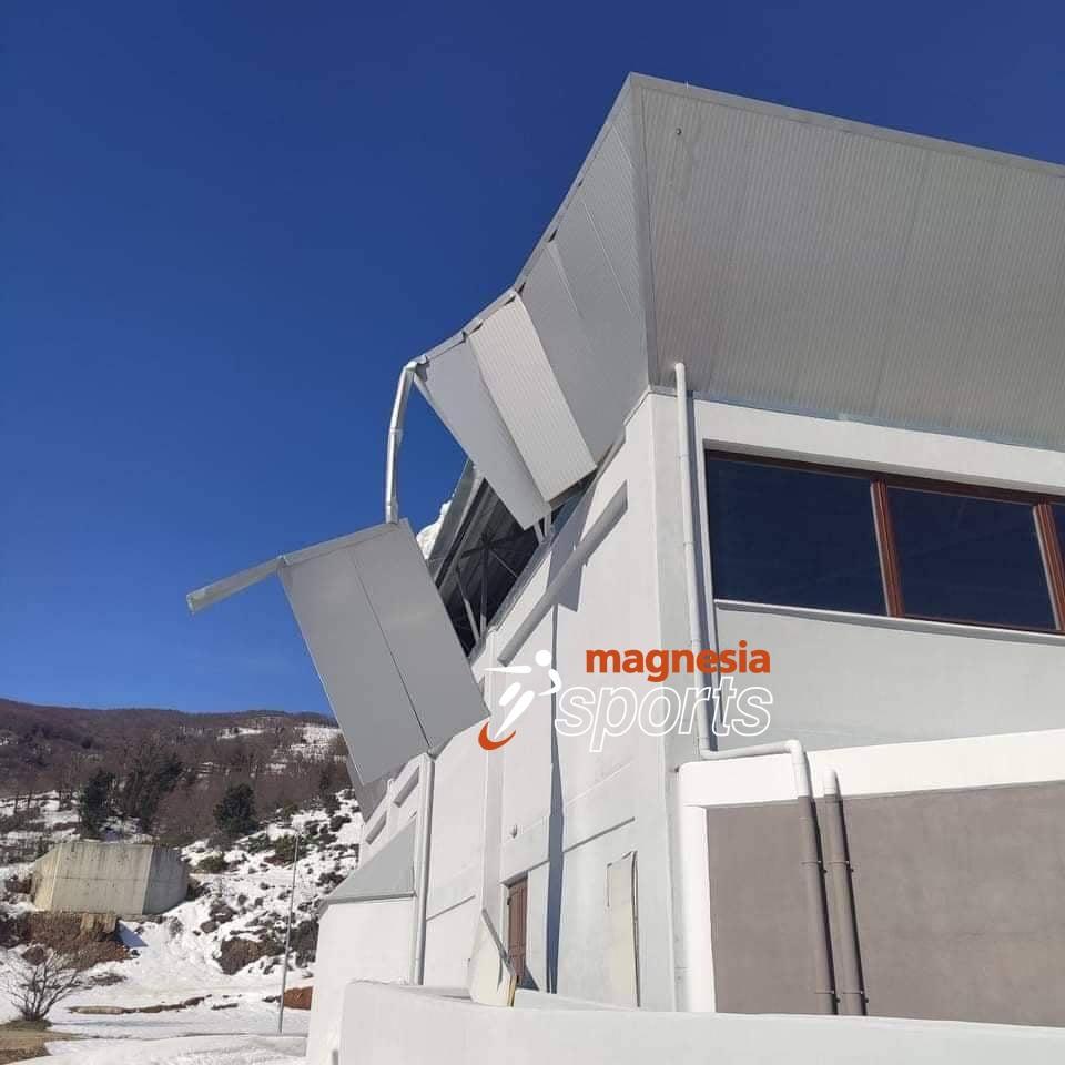 Kουτσάφτης στο «Μagnesiasports»: «Αστοχία υλικού, λόγω και χιονιού η ζημιά στο κλειστό Ζαγοράς»