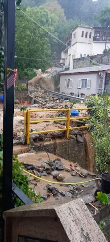Συγκλονιστικές εικόνες από τις καταστροφές που προκάλεσε η κακοκαιρία στο Ανατολικό Πήλιο
